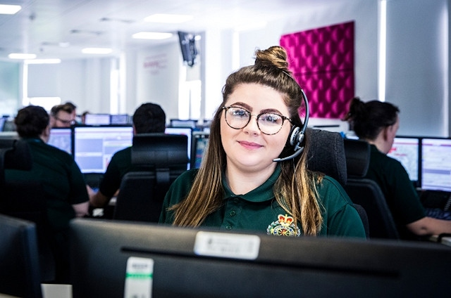 Ambulance dispatcher inspires young people