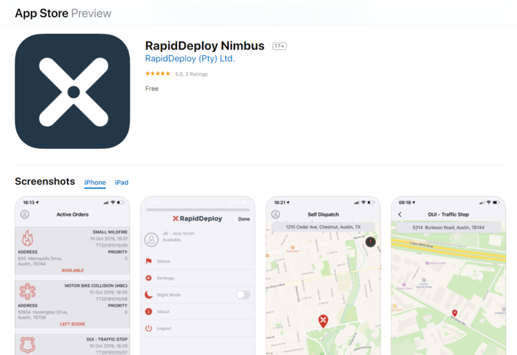 RapidDeploy's New Native Mobile Applications Ring in New Era for First Responders