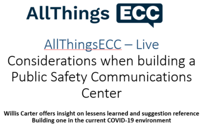 Considerations when building a Public Safety Communications Center