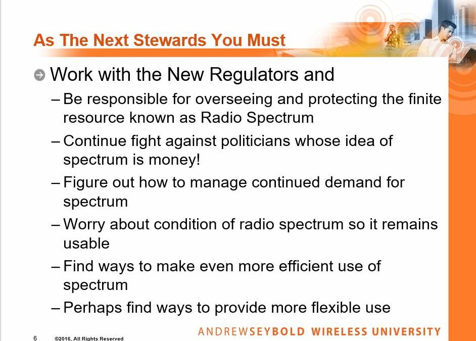 Public Safety Advocate: FCC's New Approach, FirstNet's Future